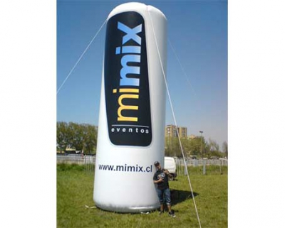 Totem Inflable con logotipo