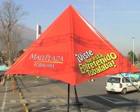Carpa Tela PVC Mall Plaza